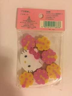 Sanrio vintage Hello Kitty 擦膠 1994