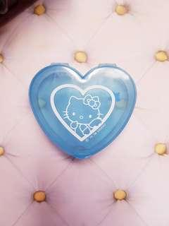 Blue Hello Kitty Mini Heart Box