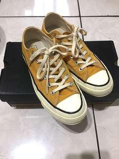 🚚 Converse All star 1970 70s 黃 芥末黃 低筒 附鞋盒