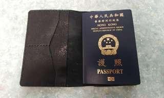 真皮 passport 套