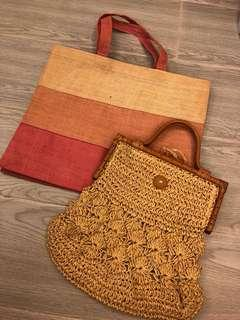 Summer bags $40 for 2