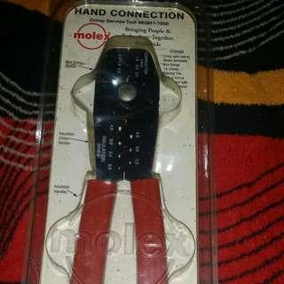 Hand connection crimp