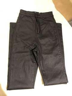 Supre 'Wet Look' Denim Jeans