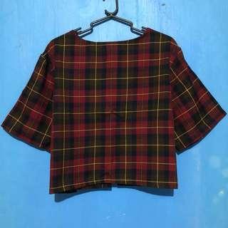 LOVING YOUTH blouse & skirt