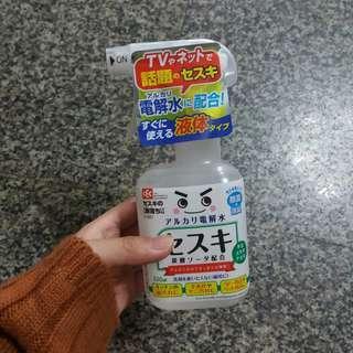 🚚 日本原裝進口倍半碳酸鈉電解水除菌去污噴劑清潔噴霧320ml