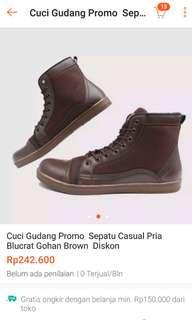 Sepatu blucrat brown