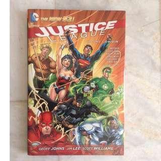 Justice League New 52 Vol. 1: Origin
