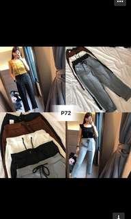Korean Fashion Long Pants