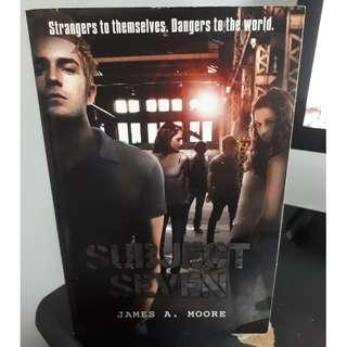Subject Seven Books by James A. Moore