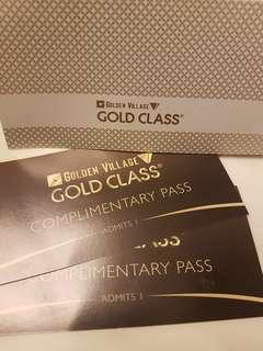 Gold Class Golden Village