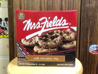 MRSFIELDS Milk Chocolate Chip COOKIES