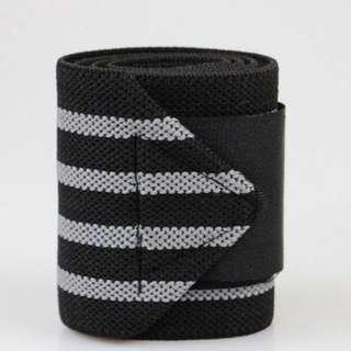 *Grey* Wrist Support / Gym Brace / Lifting Wrap