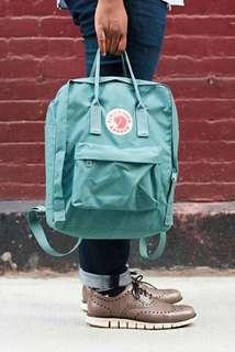 Kanken Frost Green Authentic