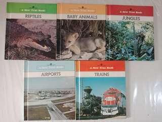 """Buku anak seri """"a new true book"""""""