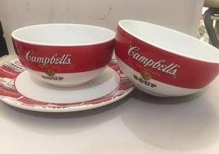 Campbell's bowl set