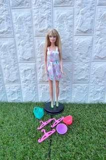 Barbie doll with free accessories