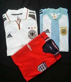 Authentic Jersey Germany Argentina England