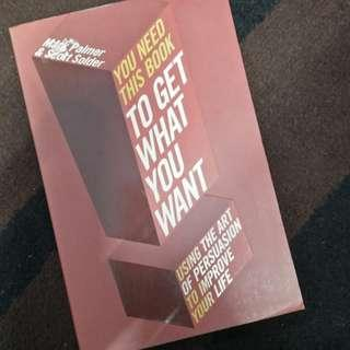 You need this book to get what you want