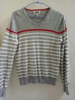 🚚 韓式 針織條紋衣