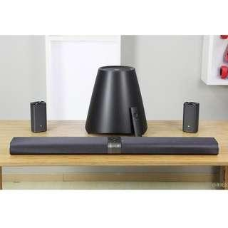 CHEAPEST Xiaomi 5.1 Wireless Mi Sound Bar /w Subwoofer, Back Speakers and Mi Android Box Capability!