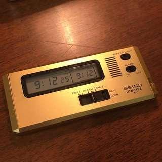 Seiko 旅行鐘 跳字鐘 80年代