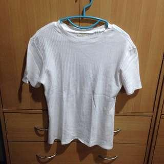 Penshoppe White Fitted Top