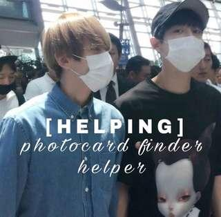 [HELPER] PHOTOCARD FINDER HELPER