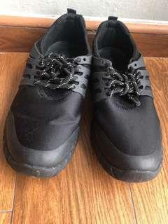 Male Black Sneaker Shoes