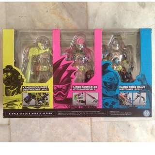 Kamen Rider Ex-Aid Mighty Action x Beginning Set w/ Stage Act 4