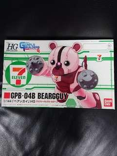 高達模型: 7-11限定1/144 HGBF Gundam Beargguy 熊霸