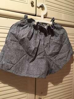 灰色短褲 short pant