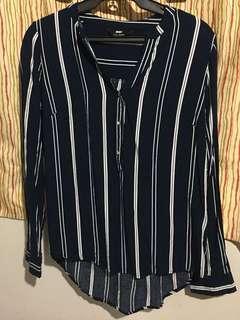 Max Striped blouse