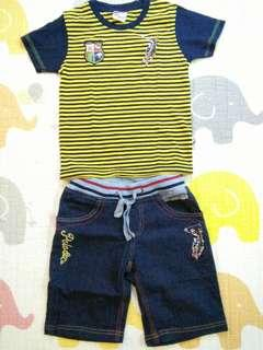 Polo Shirt & Pants