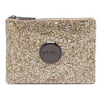 WTS Mimco Medium Spark Fly Gold Pouch
