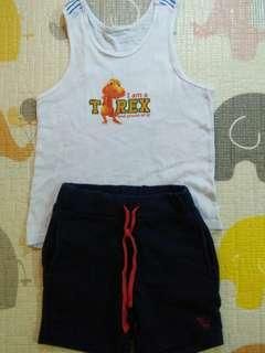Set singlet and pants