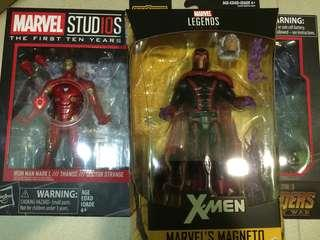 WTS Marvel Legends Iron man and Magneto and more freebies