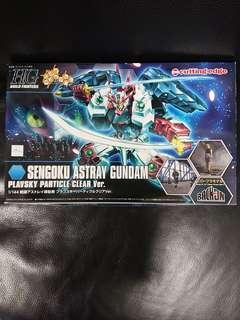 高達模型: 會場限定 1/144 HGBF Sengoku Astray Gundam 戰國迷惘Plavsky Particle Clear 金粉彩透 ver