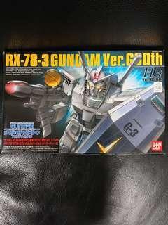 高達模型: 會場限定 1/144 HGUC Gundam RX78-3 ver.G30th