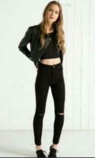 Bershka highwaisted jeans