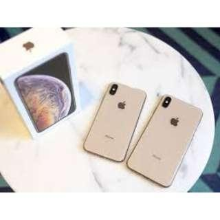 new iphone xs 256gb gold (sealed)