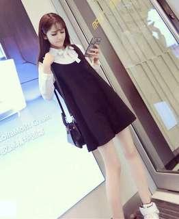 Size 6-8, Shirt➕black skirt