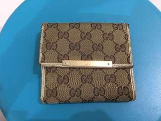 Authentic Gucci Foldable Wallet