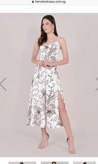 HVV Tamara Floral Maxi in White