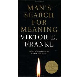 EBOOK: Man's Search for Meaning by Kushner