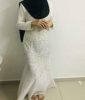 dress nikah / sanding
