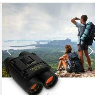 30 X 60 Zoom Outdoor Travel Folding Binoculars