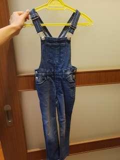 H&M Girl jean romper