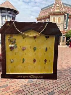 HKDL pins 香港迪士尼徽章襟章 鎖匙造型系列第一期 - 小仙子Tinkerbell LE400 Disney pin