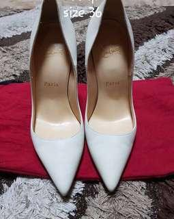 Authentic Christian Louboutin shoes with dustbag