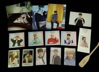 [CLEARANCE] SVT OFFICIAL ITEMS ALBUM PHOTOCARDS, BOOKMARKS, POSTCARDS CONDITION 10/10 💞